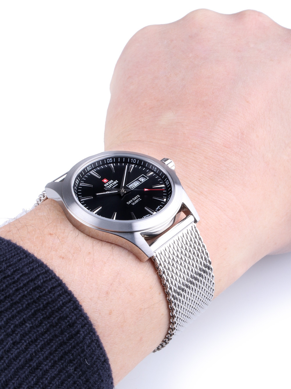 Swiss Military SMP36040.01 Men's 42mm 5 ATM