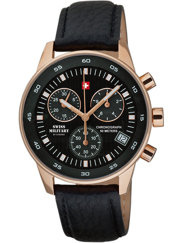 Swiss Military SM30052.06 Chronograph 40mm 5 ATM