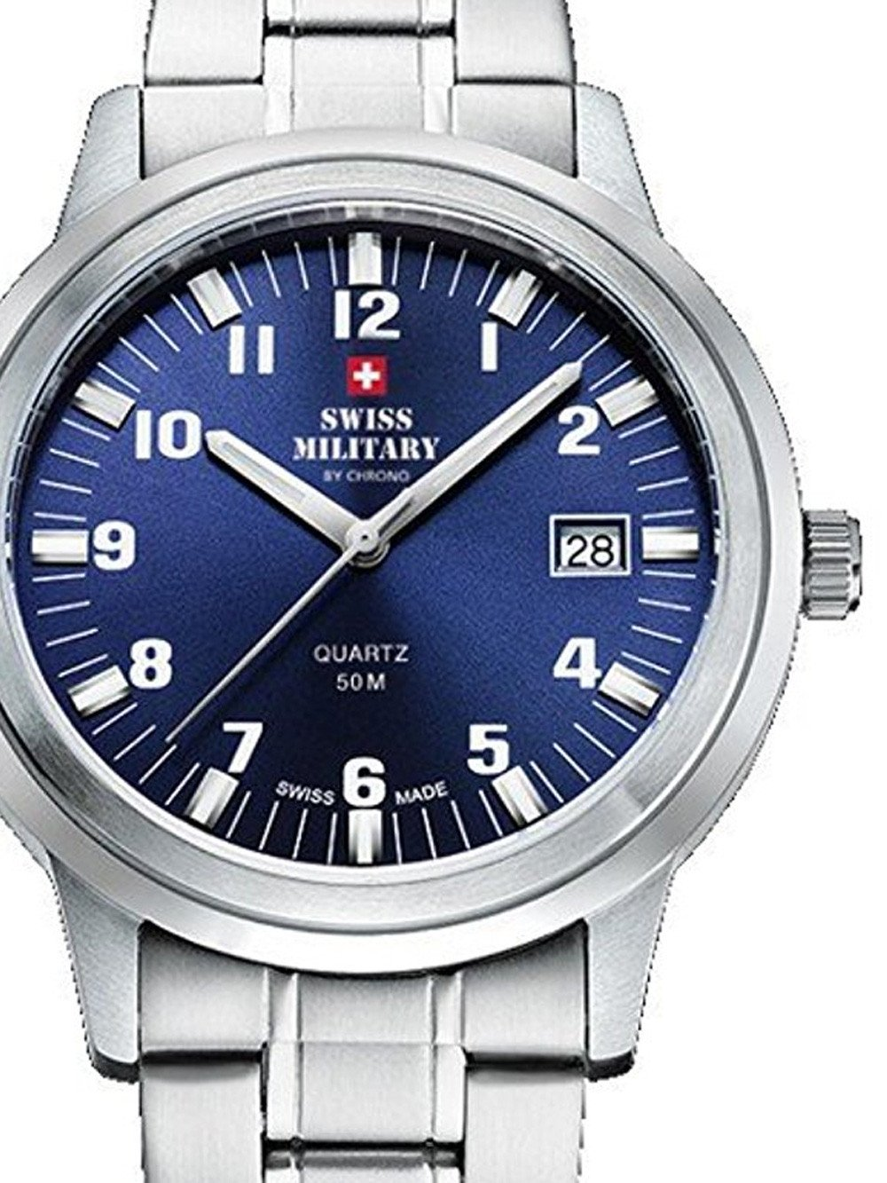 Swiss Military SMP36004.08 Men's 40mm 5 ATM