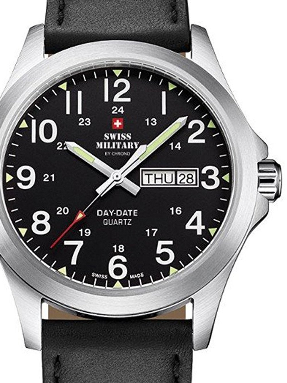 Swiss Military SMP36040.15 Men's 42mm 5 ATM