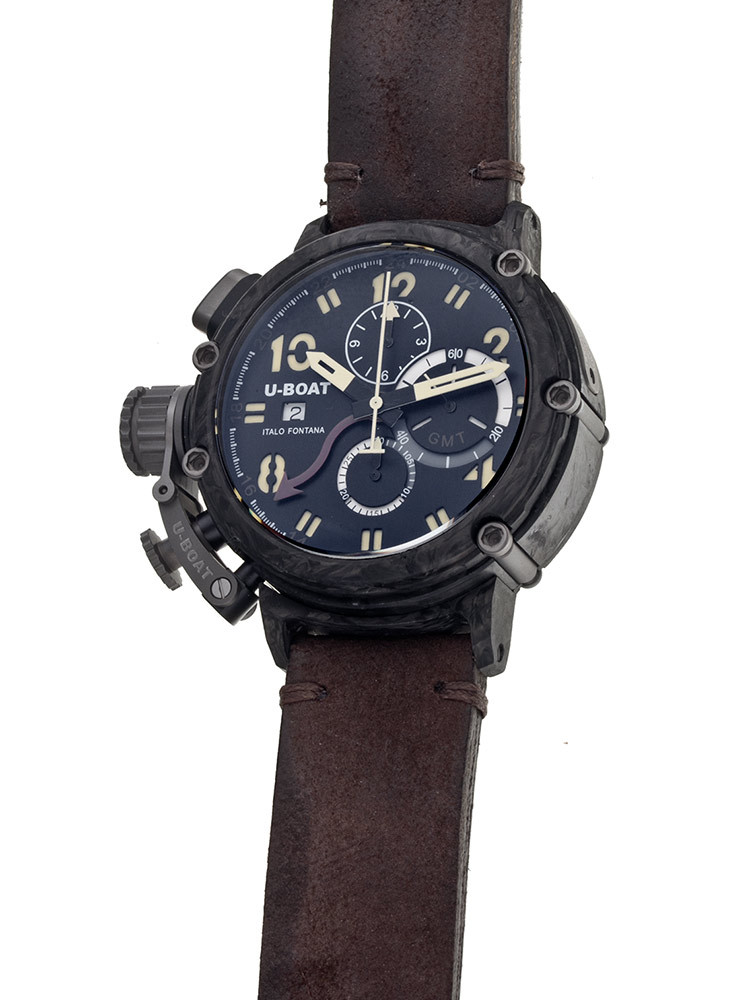 U-Boat Chimera Carbon 7177 48 mm Limited X / 199 Automatic Chrono