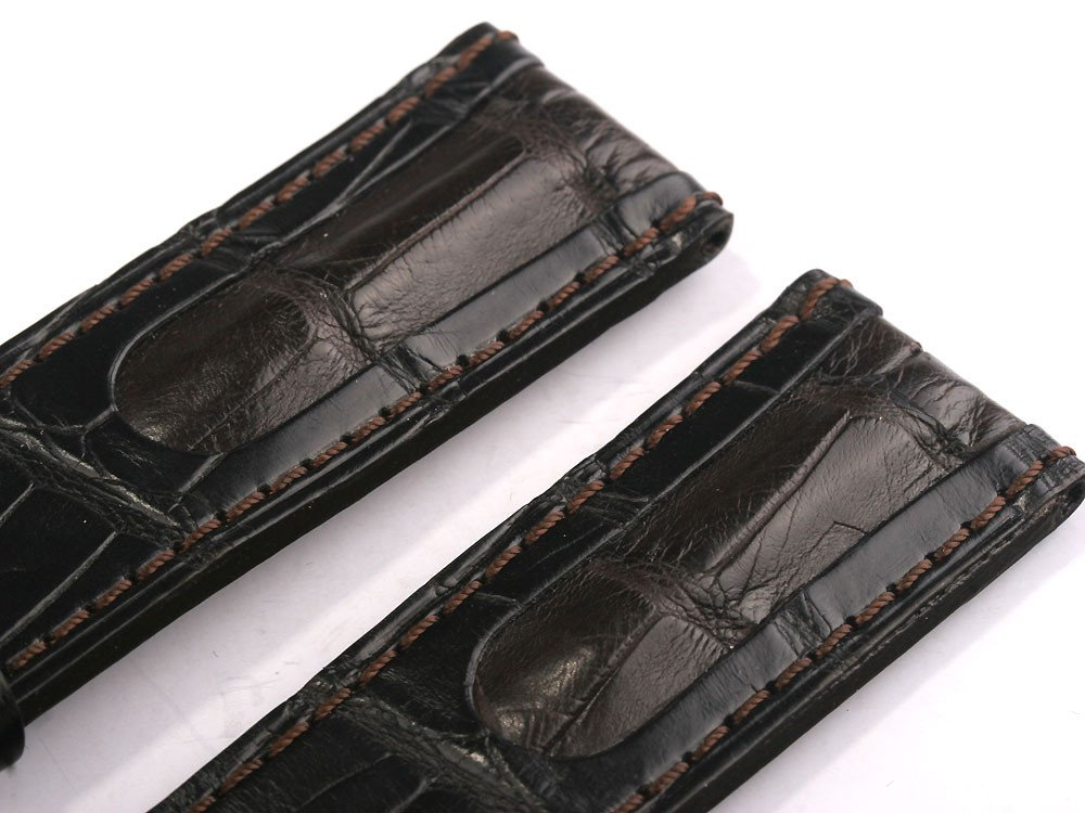 U-Boat Replacement Strap Ref. 6491 IPB 23/22 Brown-black alligator leather