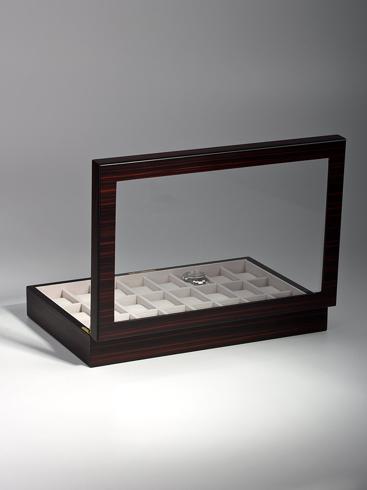 Rothenschild Watch Box RS-1087-24E for 24 Watches Ebony
