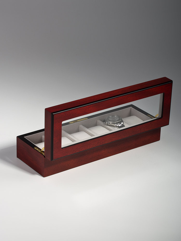 Rothenschild Watch Box RS-1087-6C for 6 Watches Cherry