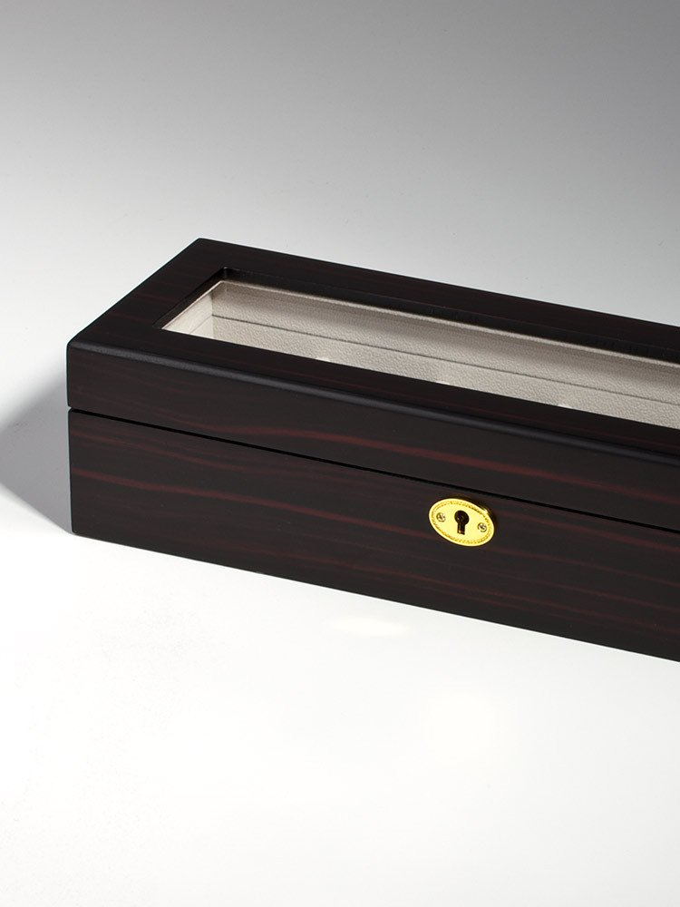 Rothenschild Watch Box RS-1087-6E for 6 Watches Ebony