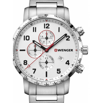 Wenger 01.1543.110 Attitude Chonograph 44mm 10 ATM