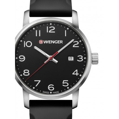 Wenger 01.1641.101 Avenue Men's 42mm 10 ATM