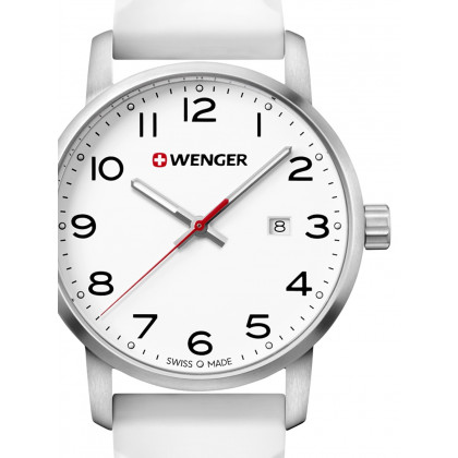 Wenger 01.1641.106 Avenue Men's 42mm 10 ATM