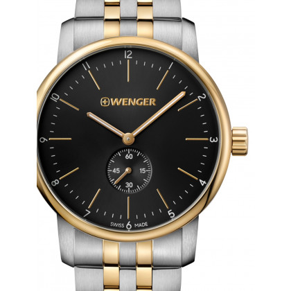Wenger 01.1741.104 Urban Classic Men's 44mm 10 ATM
