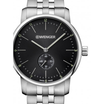 Wenger 01.1741.105 Urban Classic Men's 44mm 10 ATM