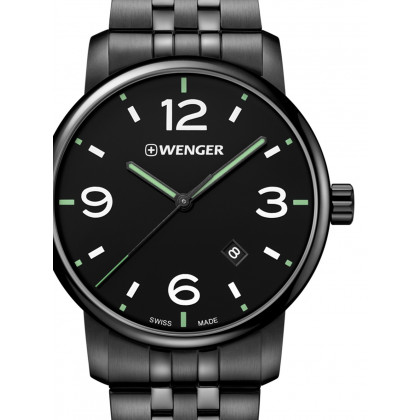 Wenger 01.1741.119 Urban Metropolitan Men's 42mm 10 ATM
