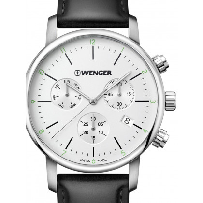 Wenger 01.1743.118 Urban Classic Chronograph 44mm 10ATM