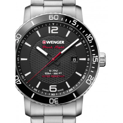 Wenger 01.1841.104 Roadster Men's 44mm 10 ATM