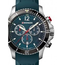 Wenger 01.0643.114 Seaforce Chronograph 43mm 20 ATM