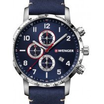 Wenger 01.1543.109 Attitude Chonograph 44mm 10 ATM
