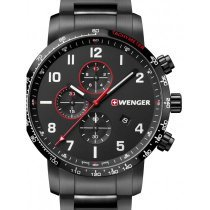 Wenger 01.1543.115 Attitude Chronograph 44mm 10ATM