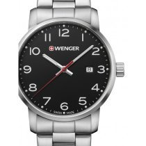 Wenger 01.1641.102 Avenue Men's 42mm 10 ATM