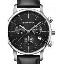 Wenger 01.1743.102 Urban Classic Chronograph 44mm 10 ATM