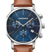 Wenger 01.1743.104 Urban Classic Chronograph 44mm 10 ATM