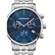 Wenger 01.1743.105 Urban Classic Chronograph 44mm 10 ATM