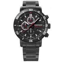 Wenger 01.1843.110 Roadster Black Night chrono 45mm 10ATM