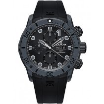 Edox 01125-CLNGN-NING CO-1 chronograph automatic 45mm 50ATM