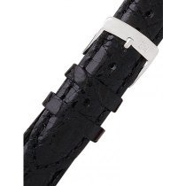Morellato A01U0518339019CR19 Black alligator Watch Strap 19mm