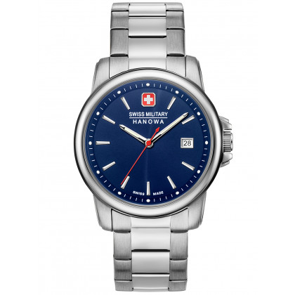 Swiss Military Hanowa 06-5230.7.04.003 Swiss Recruit II men´s 39mm 5ATM