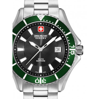Swiss Military Hanowa 06-5296.04.007.06 Nautila Men's 46mm 10 ATM