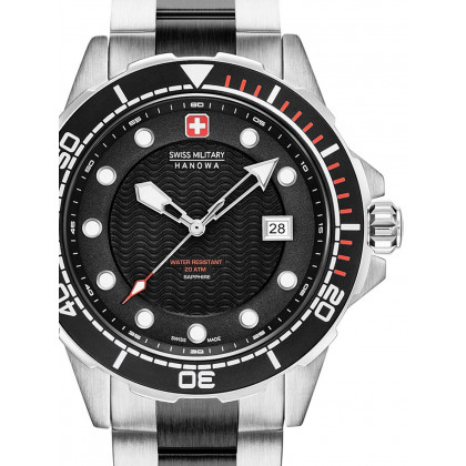 Swiss Military Hanowa 06-5315.33.007 Neptune Diver men´s 44mm 20ATM