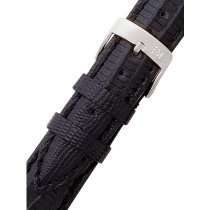 Morellato A01U0856041019CR16 Black Lizard Watch Strap 16mm
