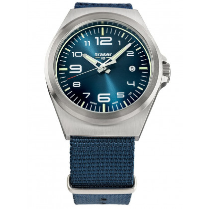 Traser H3 108216 P59 Esssential M Blue men´s 42mm 10ATM
