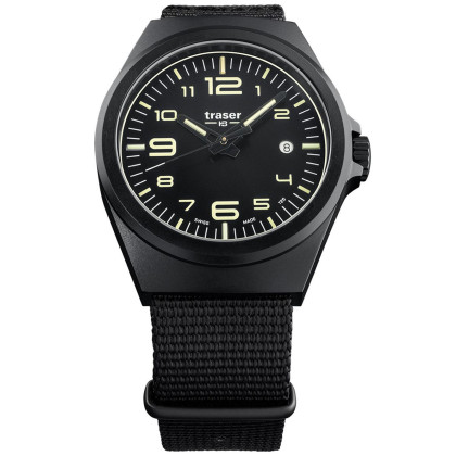 Traser H3 108218 P59 Esssential M Black men´s 42mm 10ATM