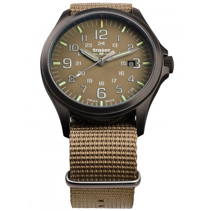 Traser H3 108631 P67 Officer GunMetal Khaki Men's 42mm 10ATM
