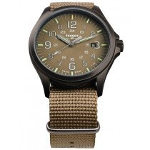 Traser H3 108631 P67 Officer GunMetal Khaki men´s 42mm 10ATM