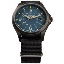 Traser H3 108632 P67 Officer GunMetal Blue Men's 42mm 10ATM