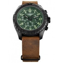 Traser H3 109047 P96 OdP Evolution green Chronograph 44mm 20ATM