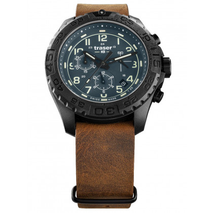 Traser H3 109049 P96 OdP Evolution petrol Chronograph 44mm 20ATM