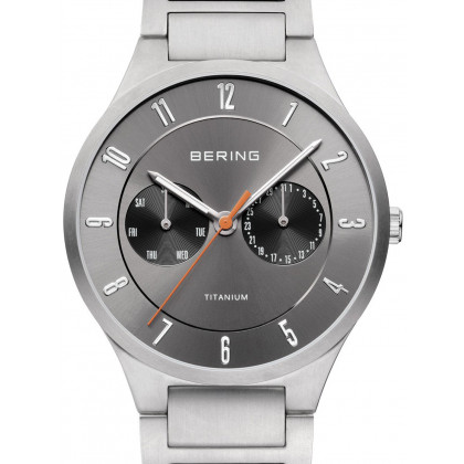 Bering 11539-779 titanium men`s 39mm 5ATM