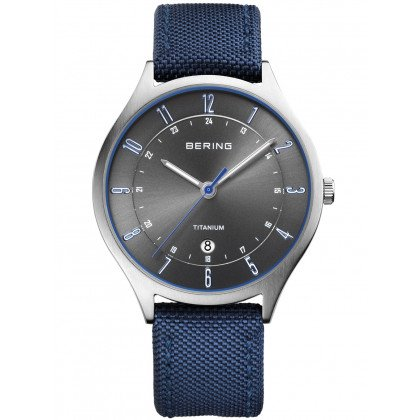 Bering 11739-873 Titanium Men's 39mm 5 ATM