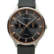 Bering 11539-879 titanium men`s 39mm 5ATM