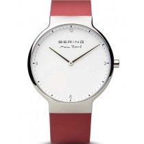Bering 15540-500 Max René silicone men`s watch 40mm 5ATM