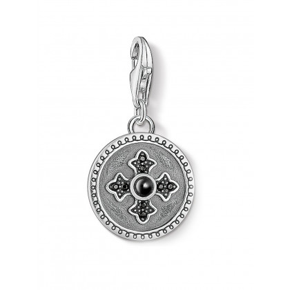 Thomas Sabo 1704-641-11 Charm Pendant Royalty cross