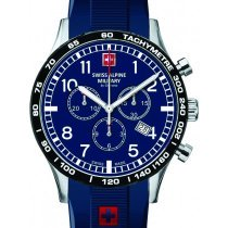 Swiss Alpine Military 1746.9835 chronograph 43mm 10ATM