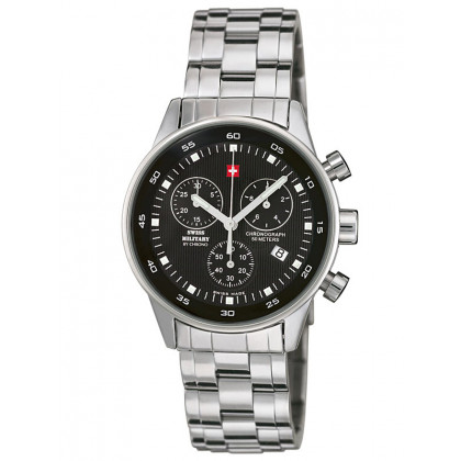 Swiss Military SM34005.01 Ladies-Chronograph 36mm 5 ATM