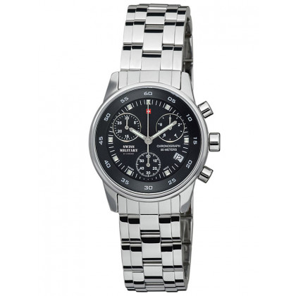 Swiss Military SM34013.01 Ladies Chronograph 31mm 5 ATM