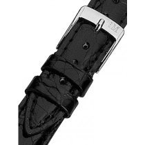 Morellato A01X2197052019CR18 Black crocodile Watch Strap 18mm