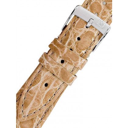 Morellato A01X2197052026CR20 Brown Crocodile Leather Watch Strap 20mm
