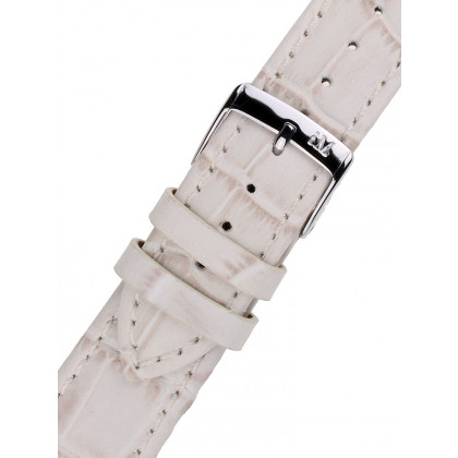 Morellato A01X2269480026CR14 White Watch Strap 14mm