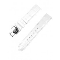 Ingersoll strap [18 mm] white with silver clasp ref. 25032